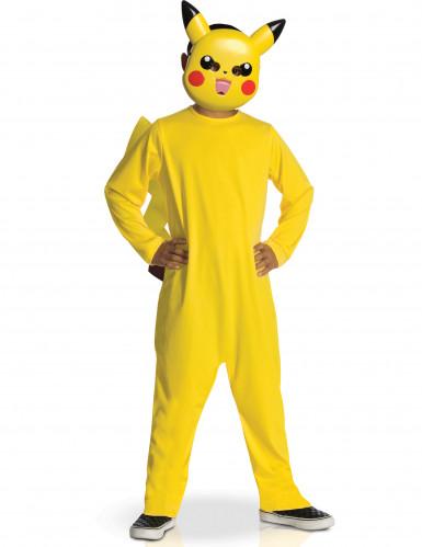 Disfraz clásico Pokémon™ Pikachu niño