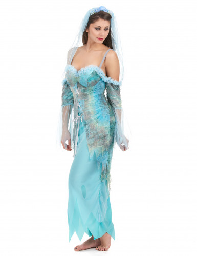 Disfraz sirena turquesa mujer-1
