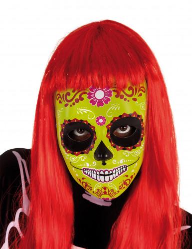 Máscara Día de los Muertos niña Halloween