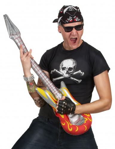 Guitarra hinchable rock-1