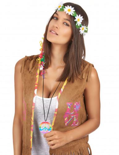 Collar hippie multicolor adulto-1
