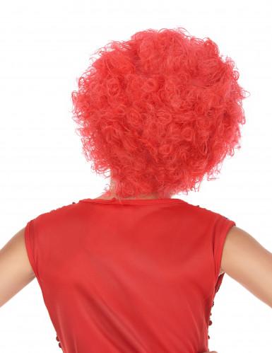Peluca disco niño rojo-1