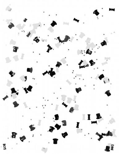 Confetis blanco y negro-1
