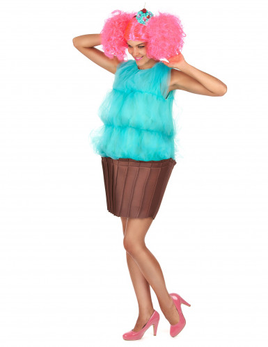 Disfraz cupcake turquesa mujer-1