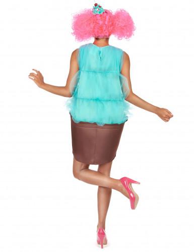 Disfraz cupcake turquesa mujer-2