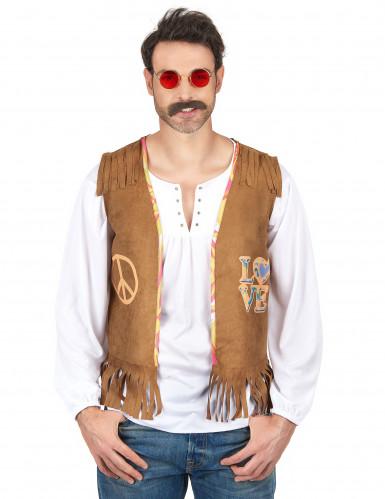 Chaleco hippie hombre