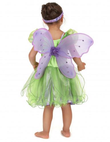 Disfraz hada verde niña-2