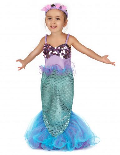Disfraz sirena para niña