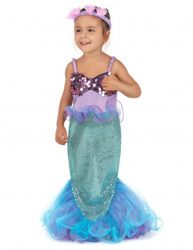 Disfraz sirena para niña-1
