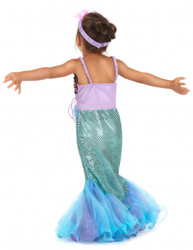 Disfraz sirena para niña-2
