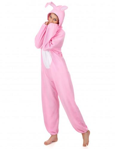 Disfraz conejo rosa mujer-1