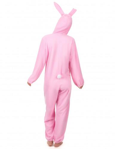 Disfraz conejo rosa mujer-2
