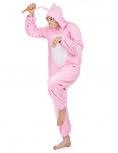 Disfraz conejo rosa hombre-1