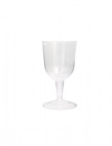6 Vasos transparentes 163 ml