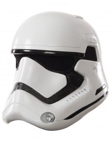 Máscara adulto casco 2 partes StormTrooper Blanco-Star Wars VII™