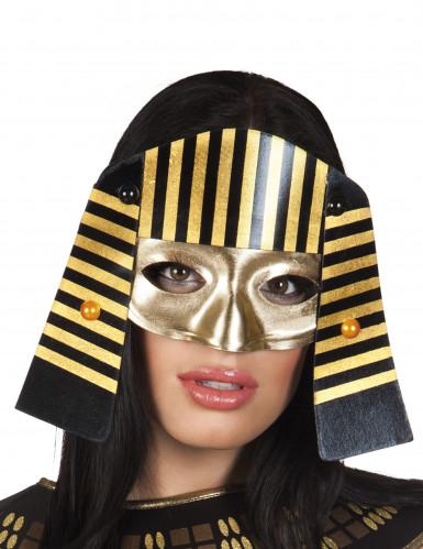 Antifaz egipcio faraón adulto