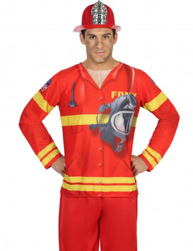 Camiseta bombero hombre
