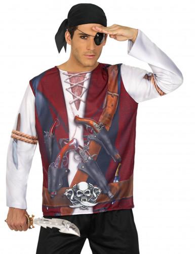 Camiseta pirata hombre
