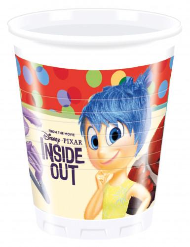 8 Vasos de plástico Del revés Inside Out™ 200 ml