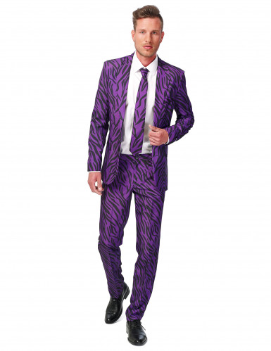 Traje tigre violeta hombre Suitmeister™