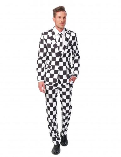 Traje blanco y negro hombre Suitmeister™