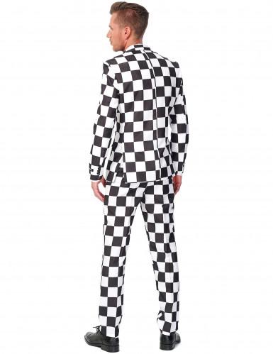 Traje blanco y negro hombre Suitmeister™-1