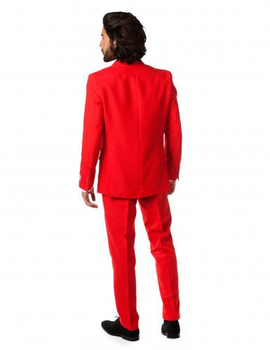 Traje Sr. Rojo endemoniado hombre Opposuits™-1