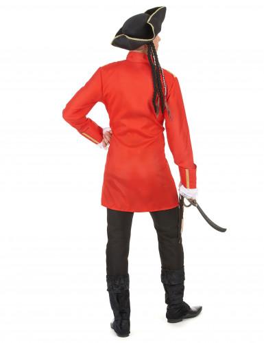 Disfraz de pirata rojo hombre-2