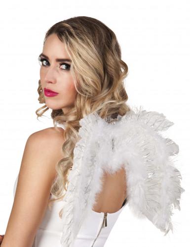 Alas de ángel blancas 48x35 cm adulto
