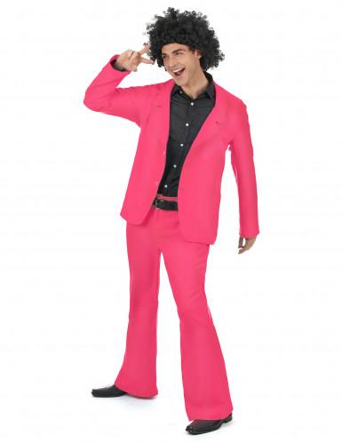 Disfraz disco rosa adulto-1