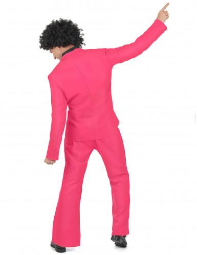 Disfraz disco rosa adulto-2