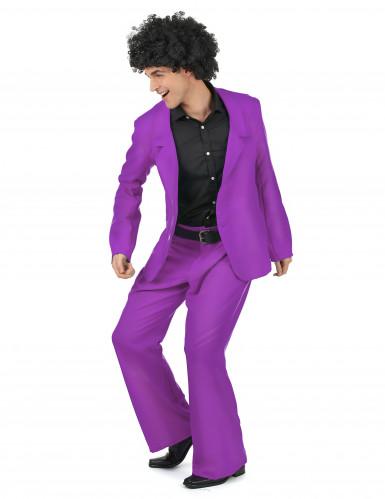 Disfraz violeta disco adulto-1