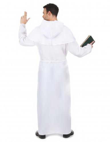 Disfraz de monje blanco-2