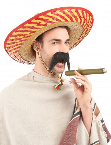Sombrero mexicano adulto paja-1