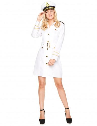 Disfraz capitana marinera mujer