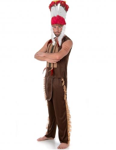 Disfraz de jefe indio hombre