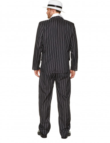 Disfraz de gánster traje rayado hombre-2