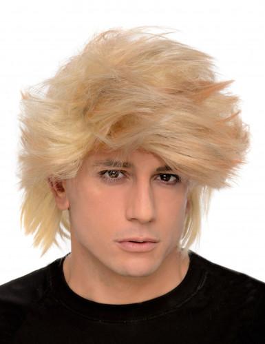 Peluca pelo rubio para hombre