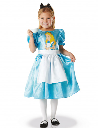 Disfraz clásico Alicia en el país de las maravillas™ niña