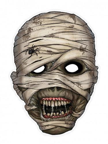Máscara momia papel