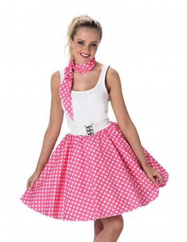 Disfraz años 50 rosa mujer-1