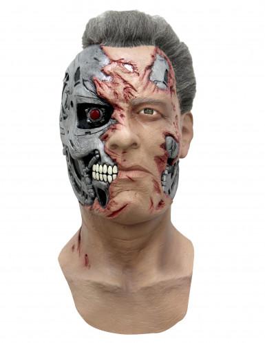 Máscara cyborg T-800 Terminator® Génesis™