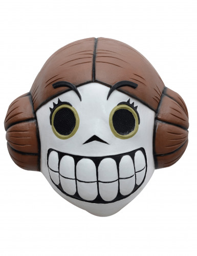 Máscara princesa del espacio Día de los muertos Calaveritas™ adulto