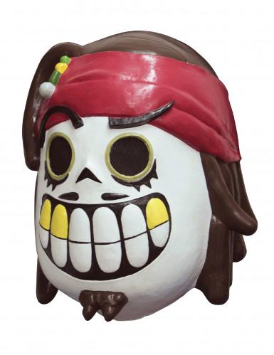 Máscara pirata Día de los Muertos Calaveritas™ adulto