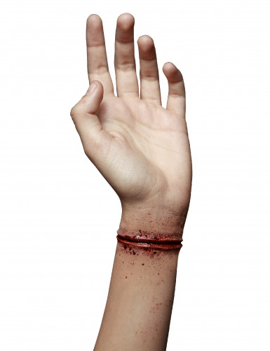 Herida falsa muñeca cortada adulto Halloween