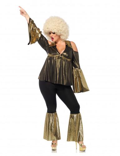 Disfraz diva disco mujer