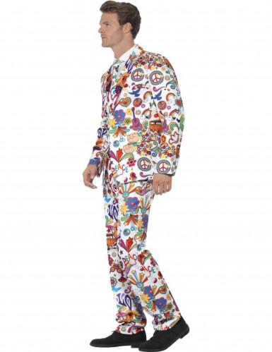 Traje Mr Groovy multicolor hombre-2