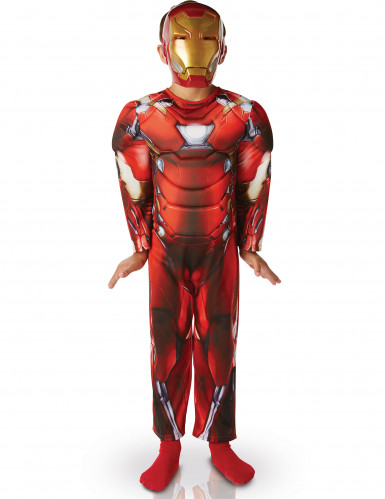 Disfraz deluxe relleno Iron Man™ niño Civil War