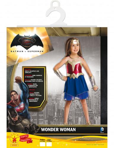 Disfraz clásico Wonder Woman™ niña El Amanecer de la Justicia-1