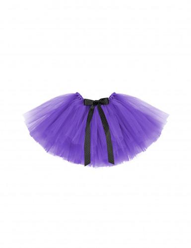 Tutú violeta niña